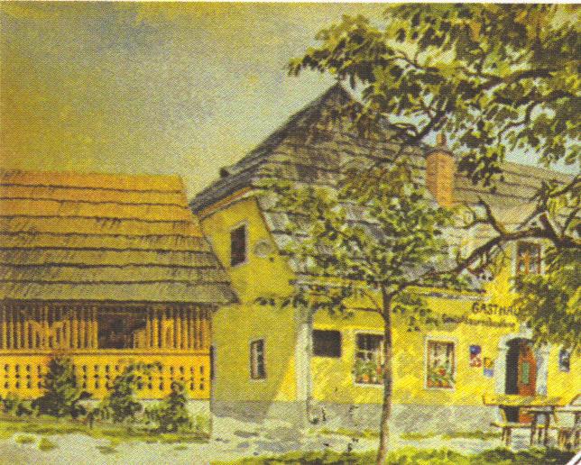 Öl-Bild-Gasthaus-Ogris