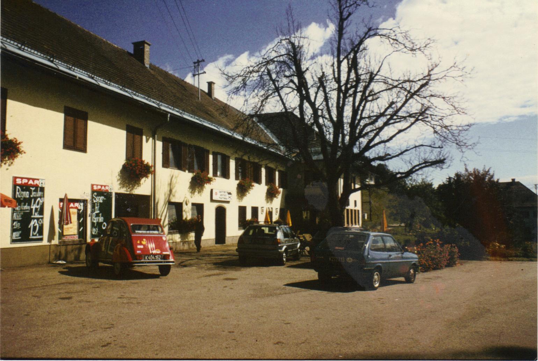 Gasthof-Ogris-mit-Spar-Geschäft-in-Ludmansndorf