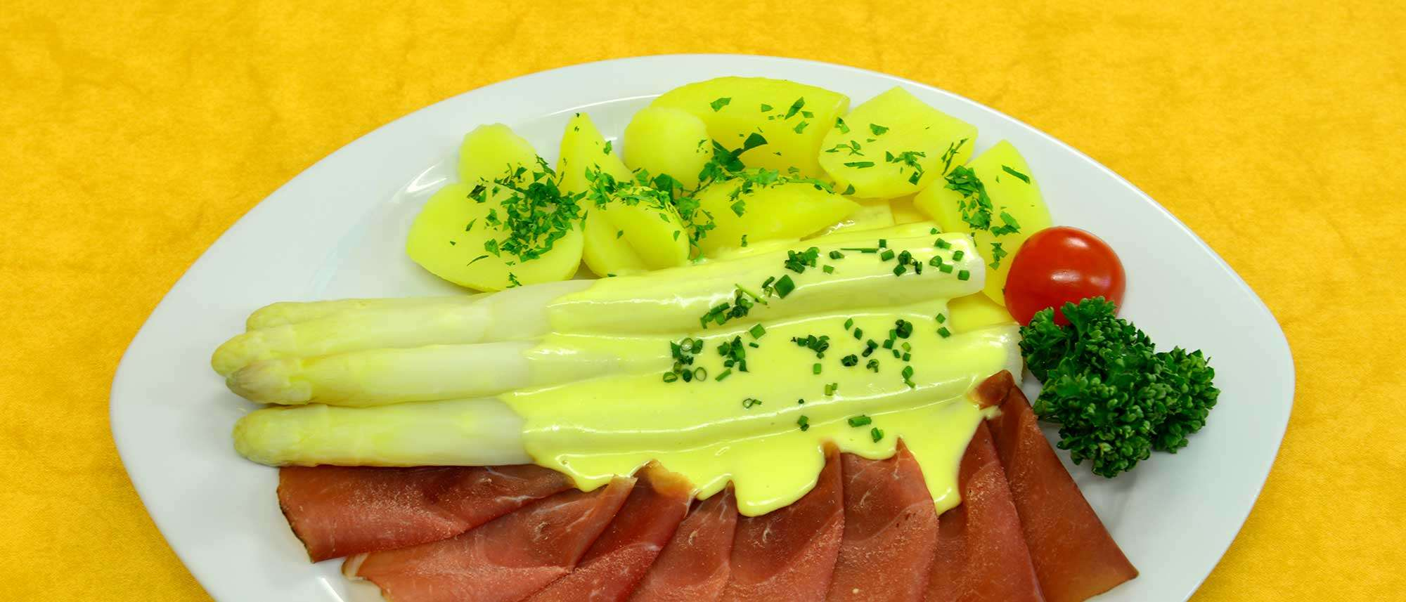 Spargelzeit is'